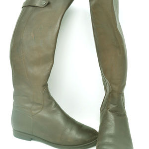 Welfare Collection Women's Brown Knee High Boots